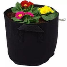 HomeOgarden PlantIN sadilna vreča, 19 L, črna, 3 kosi