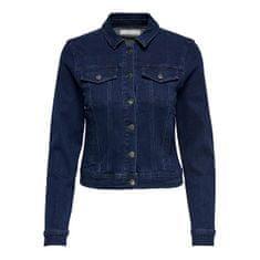 Jacqueline de Yong Női dzseki JDYNEWWINNER 15208304 Medium Blue Denim (Méret XXL)
