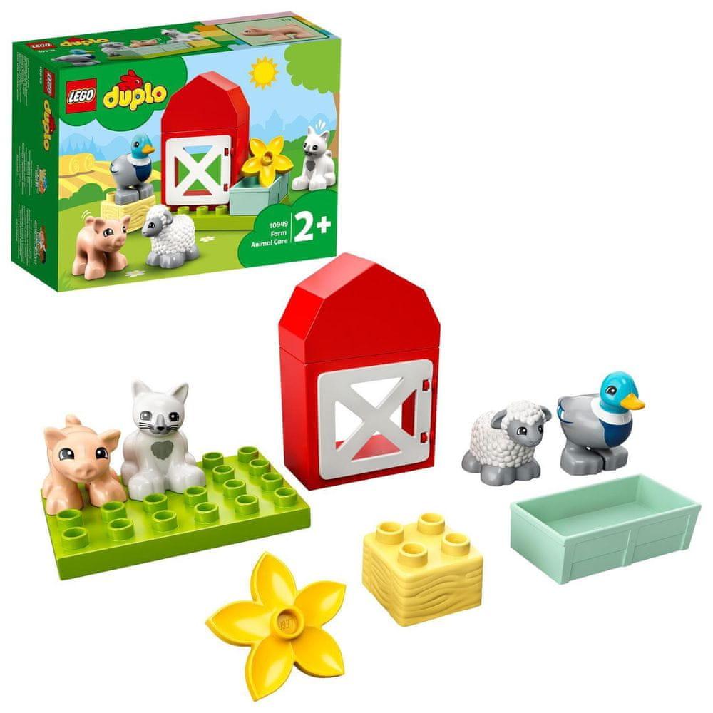 LEGO DUPLO® Town 10949 Zvířátka z farmy