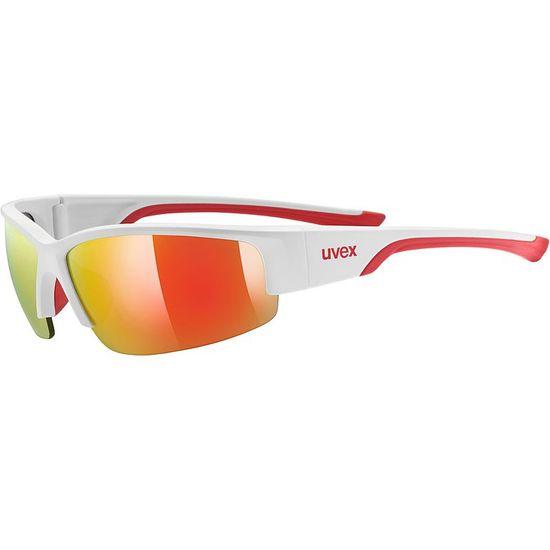 Uvex Sportstyle 215 sončna očala, mat rdeče-bela