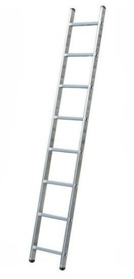 ELKOP Oporný hliníkový rebrík VHR Trend 1x8 priečok, rebrik