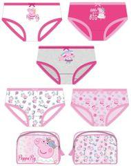 Disney lány bugyi 5pack Peppa Pig 2200007395, 92, rózsaszín