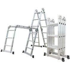 ELKOP Kĺbový multifunkčný hliníkový rebrík M 4 x 3