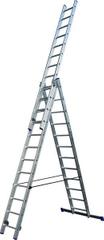 ELKOP Univerzálny 3-dielny, výsuvný rebrík VHR Profi 3x12