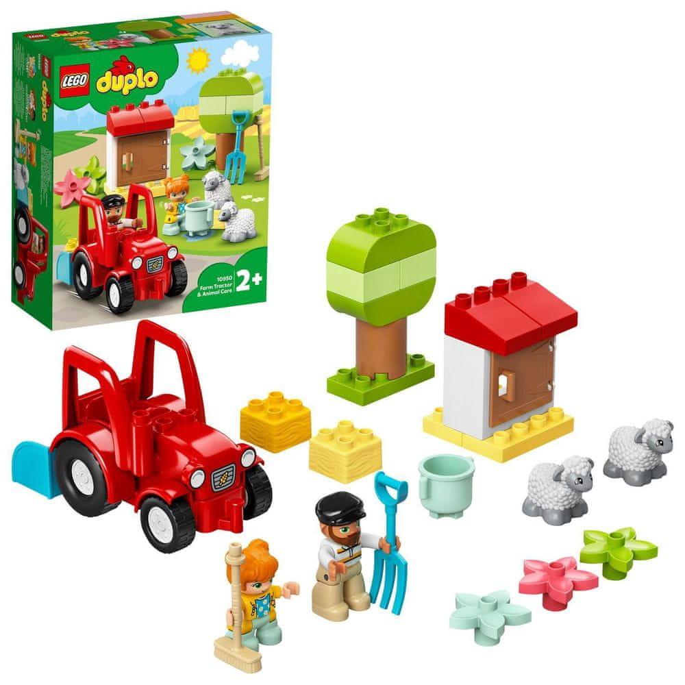 LEGO DUPLO® Town 10950 Traktor a zvířátka z farmy
