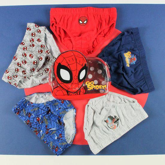 Disney Fiú 5pack alsónadrág Spiderman 2200007407