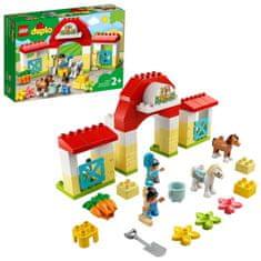 LEGO DUPLO® Town 10951 Hlev s poniji