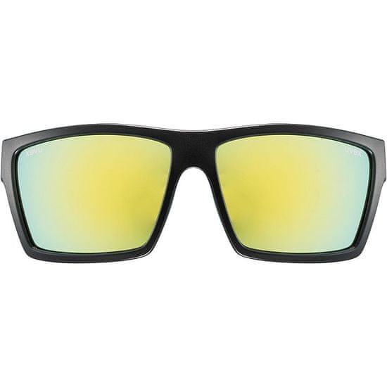Uvex LGL 29 sončna očala, mat črno-rumena