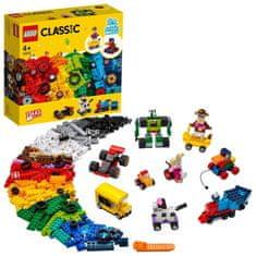 LEGO Classic 11014 Kocky a kolesá