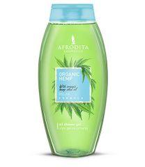 Kozmetika Afrodita gel za tuširanje Organic Hemp, 250 ml