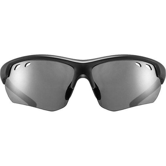 Uvex Sportstyle 115 sončna očala, mat črno-siva