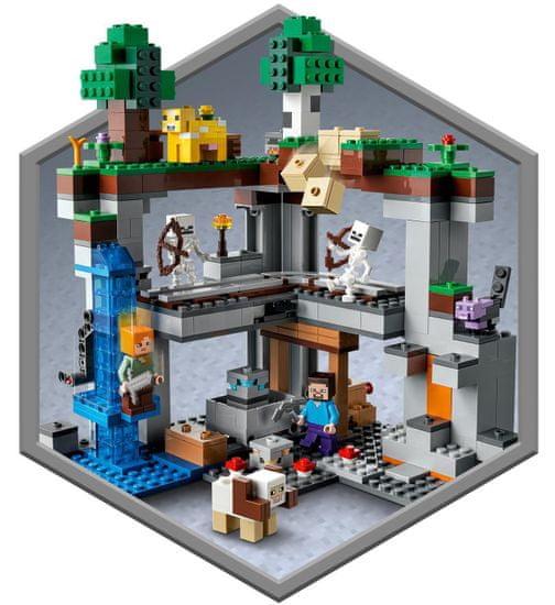LEGO Minecraft 21169 Prva dogodivščina