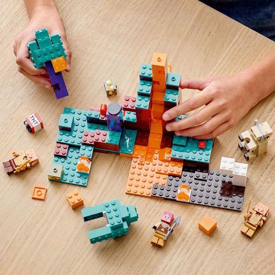 LEGO zestaw Minecraft 21168 Dziwny las