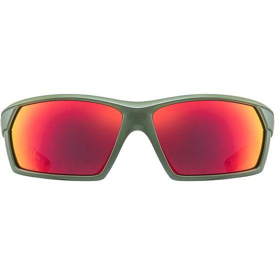 Uvex Sportstyle 225 sončna očala, mat olivno zelena