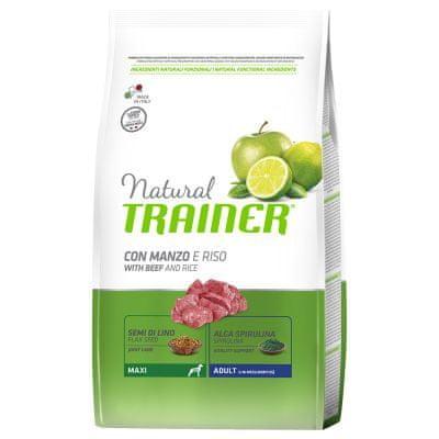TRAINER Natural Maxi Ad. Hovädzie a ryža 12kg