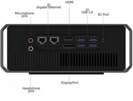 Chuwi CoreBox X mini namizni računalnik