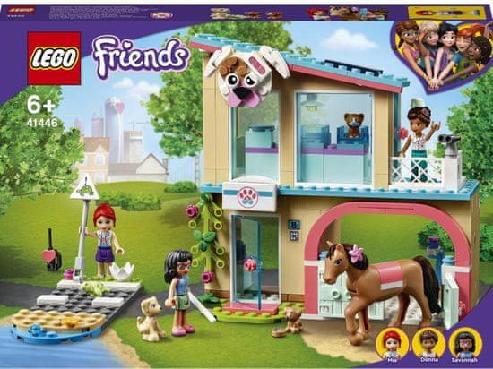 LEGO Friends 41446 Veterinárna klinika v mestečku Heartlake