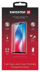 SWISSTEN zaščitno steklo Case Friendly Apple iPhone 12 mini 54501775, črno