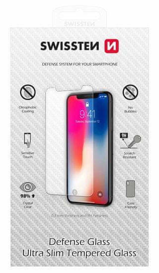SWISSTEN zaštitno kaljeno staklo za Apple iPhone 12/12 RE 2,5D (74517872)