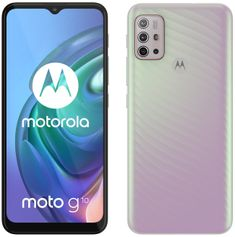 Motorola Moto G10, 4GB/64GB, Iridescent Pearl