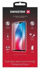 SWISSTEN steklo Full Glue Color Frame Case Friendly Samsung Galaxy S21 54501786, černé