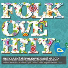 Folkové hity (3x CD) - CD
