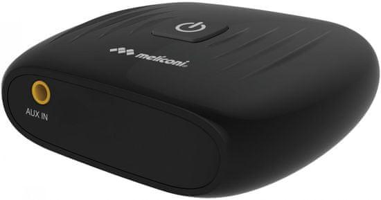 Meliconi 497900 Digitálny BT prevádzač, čierna