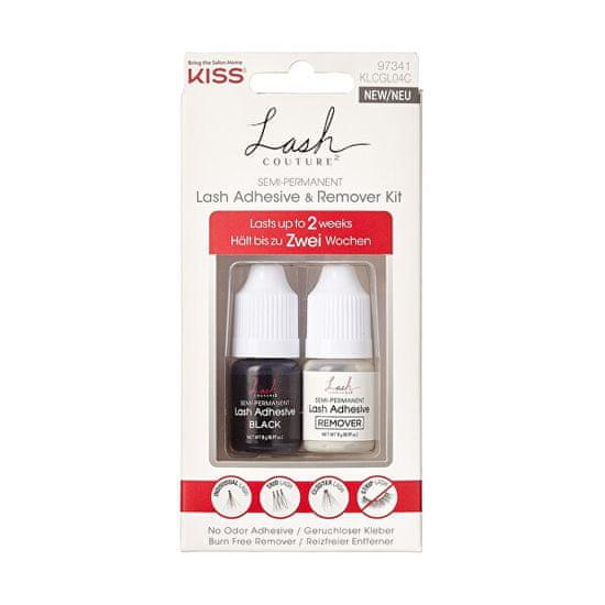 KISS Sada lepidla a odstraňovače na umělé řasy Lash Adhesive & Remover Kit