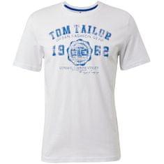 Tom Tailor T-shirt męski Regular Fit 1008637.20000 (Wielkość M)