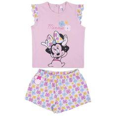 Disney dívčí pyžamo Minnie 2200006953 80 růžová