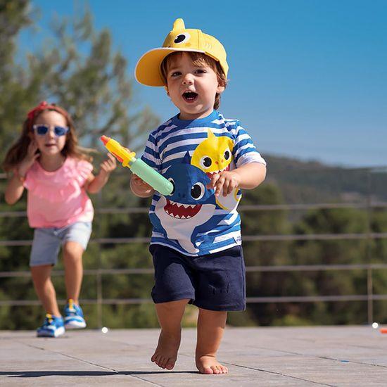 Disney komplet dziecięcy koszulka i spodenki Baby Shark 2200006959