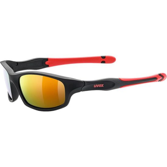 Uvex Sportstyle 507 Black Mat Red (2316)