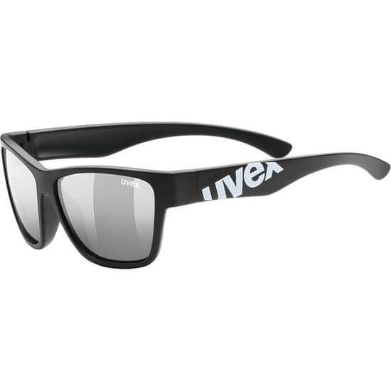 Uvex Sportstyle 508 sončna očala, otroška, mat črna