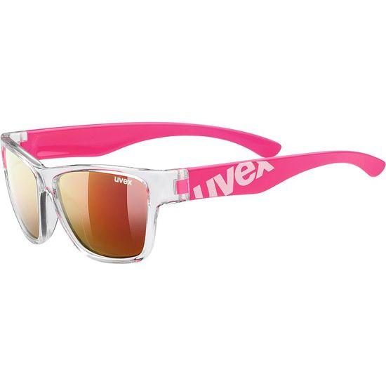 Uvex Sportstyle 508 sončna očala, otroška, prozorno-roza