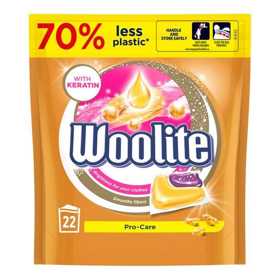 Woolite Pro-Care gél kapszula keratinnal 22 db