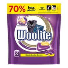 Woolite gél kapszula sötét és fekete mosáshoz keratinnal, 22 db
