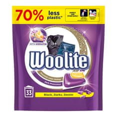 Woolite gél kapszula sötét és fekete mosáshoz keratinnal, 33 db