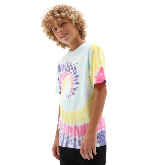 Vans Chłopięca koszulka By Tie Dye Easy Box Rainbow VN0A4MNZZ4R1