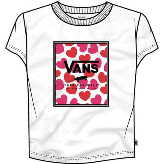 Vans Lány póló Gr Boxed Hearts VN0A53QOWHT1