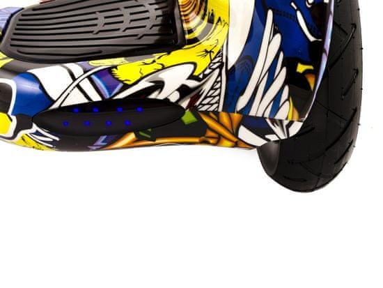 "Berger Hoverboard City 10"" XH-10 Graffiti"