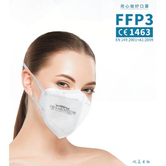 WOOW - 20ks Respiratorov FFP3, balené po 5ks