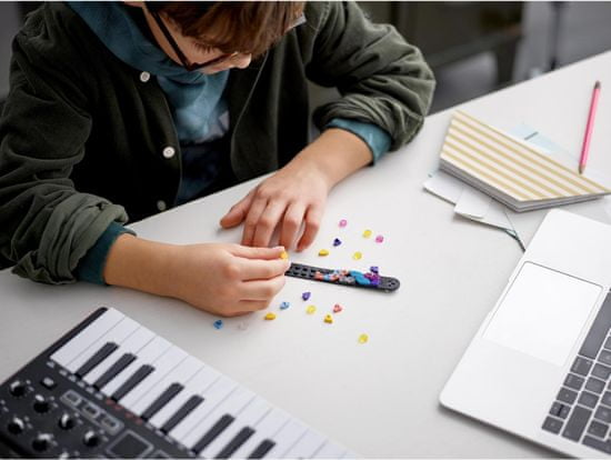 LEGO DOTS 41933 Zapestnica - disko šoba - Odprta embalaža