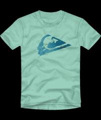 Quiksilver Young mountain EQKZT03446-GEA0 fantovska majica, 4, zelena