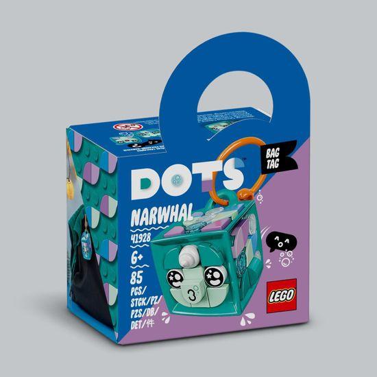 LEGO DOTS 41928 ukrasna torbica - narval