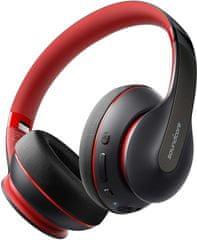 Anker Soundcore Life Q10 brezžične slušalke, črno-rdeče