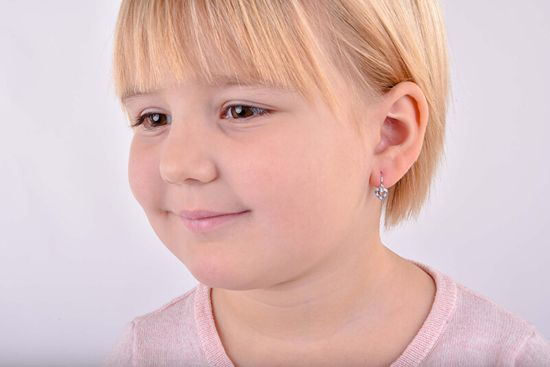 Cutie Jewellery Otroški uhani C2157-10-X-1