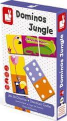 Janod Oboustranné domino Džungle