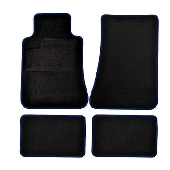 Harmony tekstilni otirač, crno-plavi