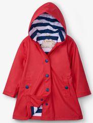 Hatley dievčenská nepremokavá bunda do dažďa RC8CGRD003 98 červená