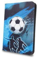 Forever Knížkové pouzdro (Fashion) Football univerzální 7-8″ GSM041320